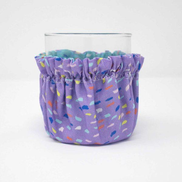 Beverage Bonnet: Floral Pink
